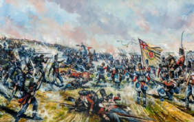 Print The Rout of the French Imperial Guard